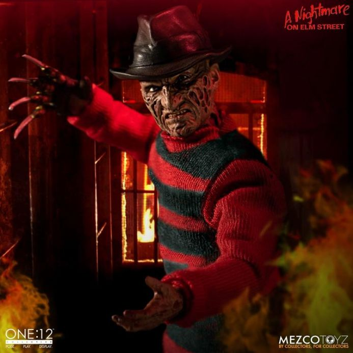 Mezco One:12 Collective A Nightmare on Elm Street Freddy Krueger